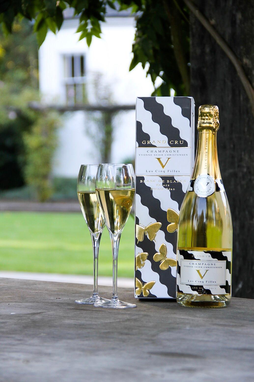 Ysclife Year in review 2018 Champagne Les Cinq Filles Cuvée Zero Dosage