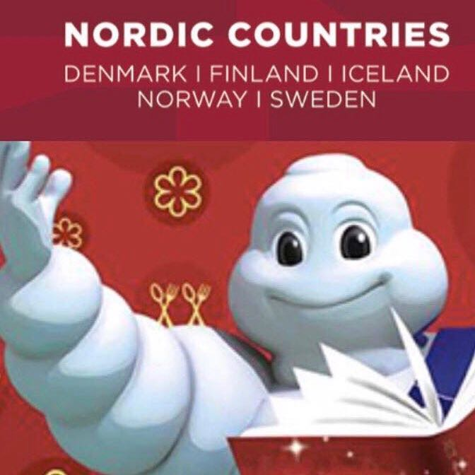 Michelin Man Nordic Countries Denmark Finland Iceland Norway Sweden