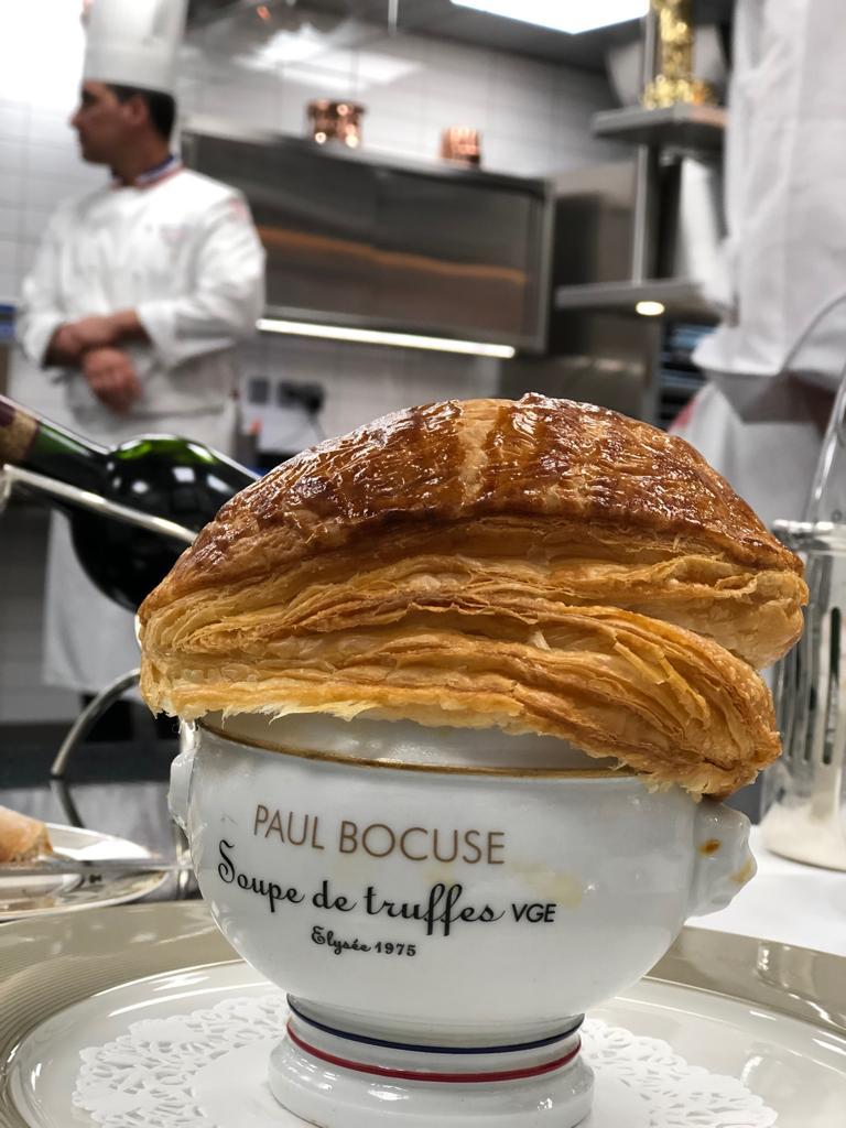 ysclife blog truffle soup Paul Bocuse Lyon