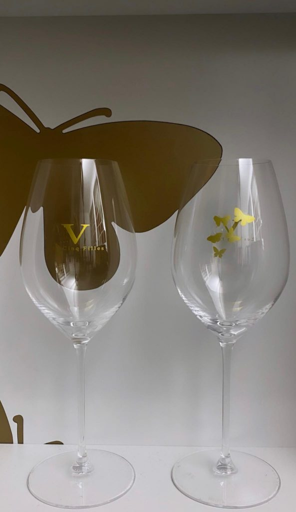 Champagne YSC Glass