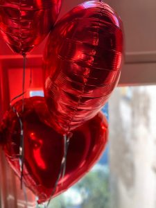 YSC Life Valentines Day Balloons